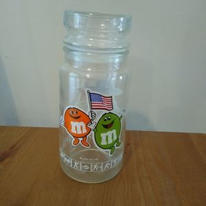 M&M Glass Container